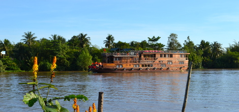Bouwsteen Vietnam: Mekongdelta cruise