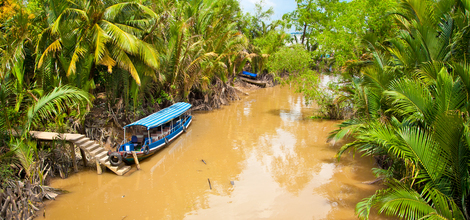 Bouwsteen Vietnam: Diep de Mekongdelta in