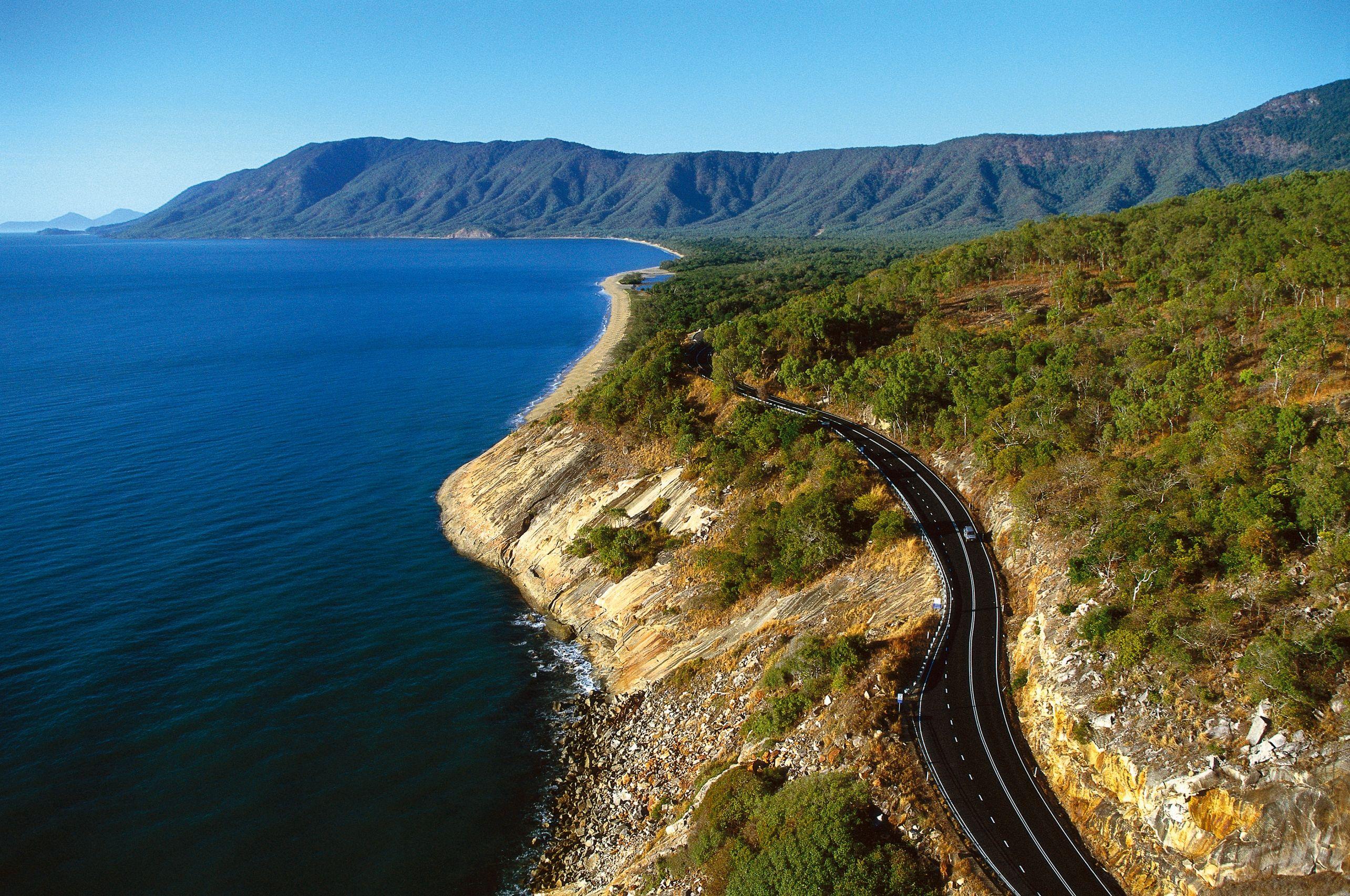 Australie-Cairns-snelweg Australië
