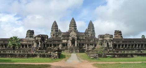 Bouwsteen Cambodja in een flits