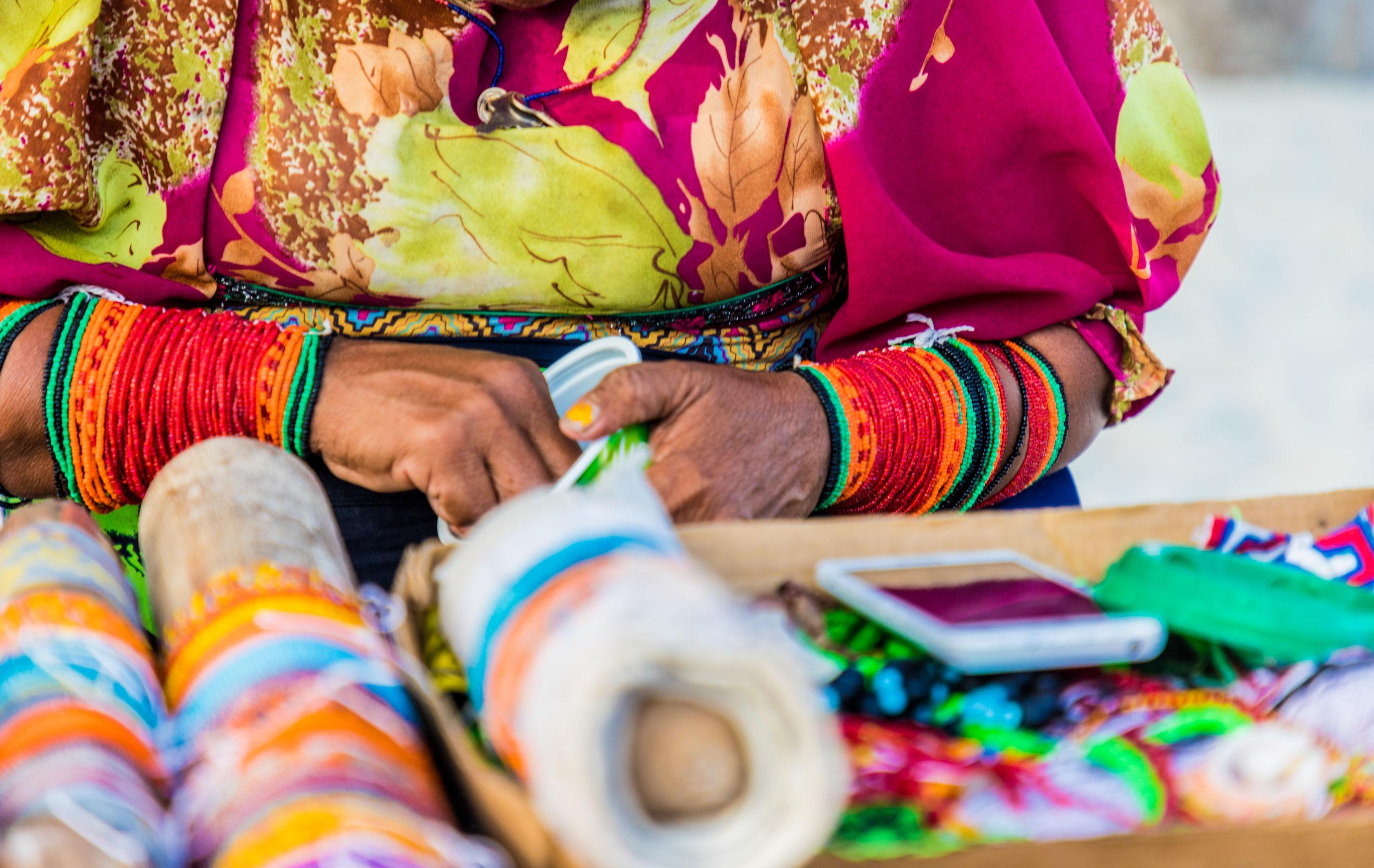 Bouwsteen Panama Op bezoek bij de Kuna Yala