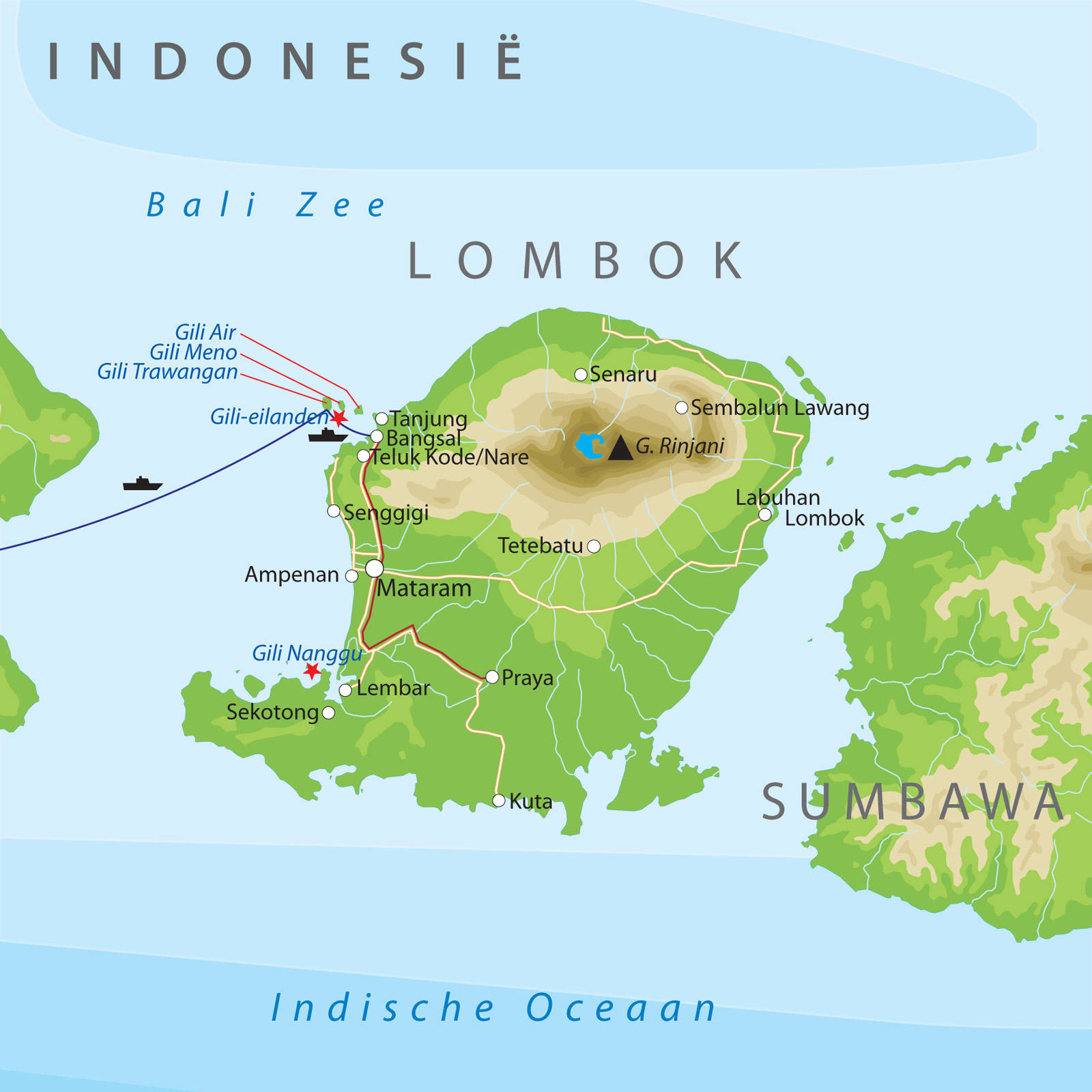 how to get to sumatra from bali