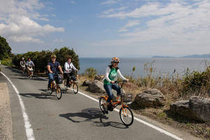 Fietstocht langs Lake Biwa