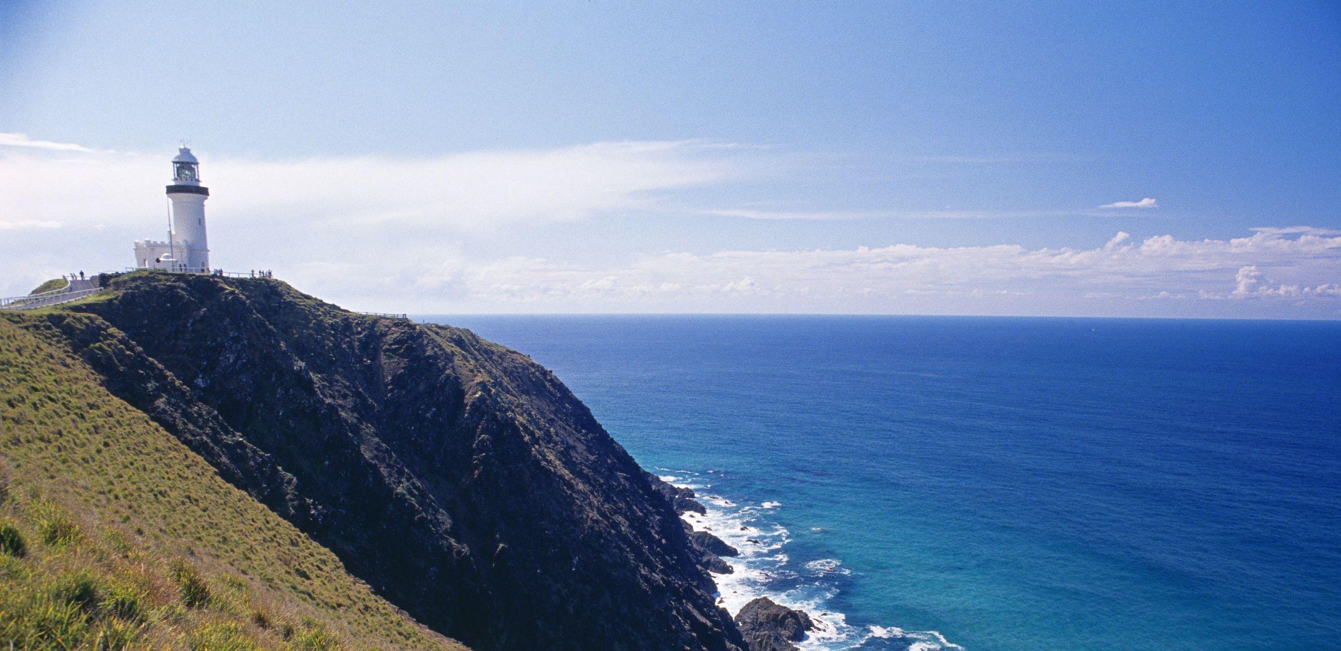 Australie-Byron-Bay-vuurtoren-klif Australië