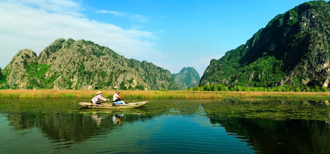 Bouwsteen Vietnam: Prachtige natuur rond Ninh Binh