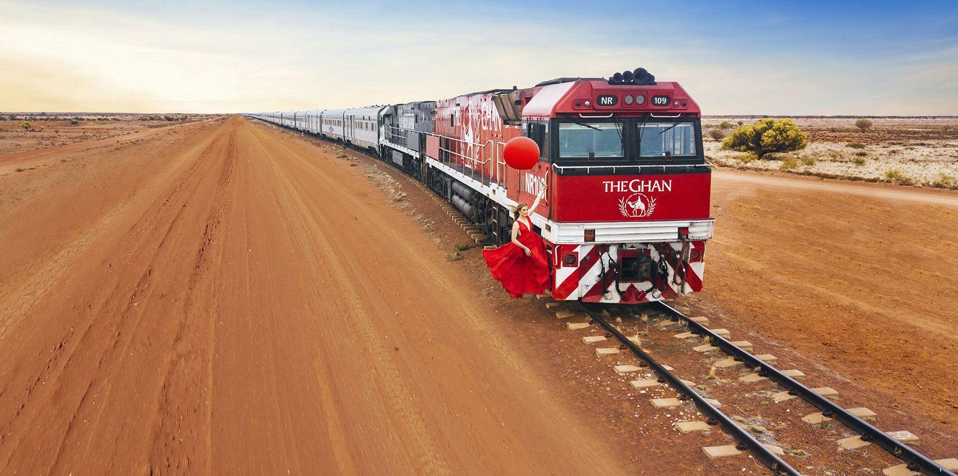 Australie-Red-Center-The-Ghan Australië