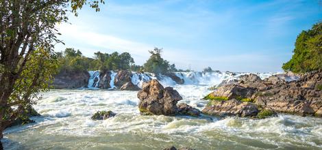 Bouwsteen Eilandenrijk van Zuid-Laos