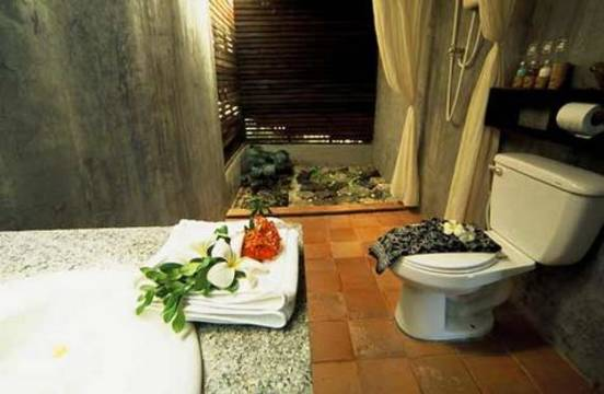 Srilanta resort op koh lanta thailand van verre middenklasse - Serveren eiland keuken ...
