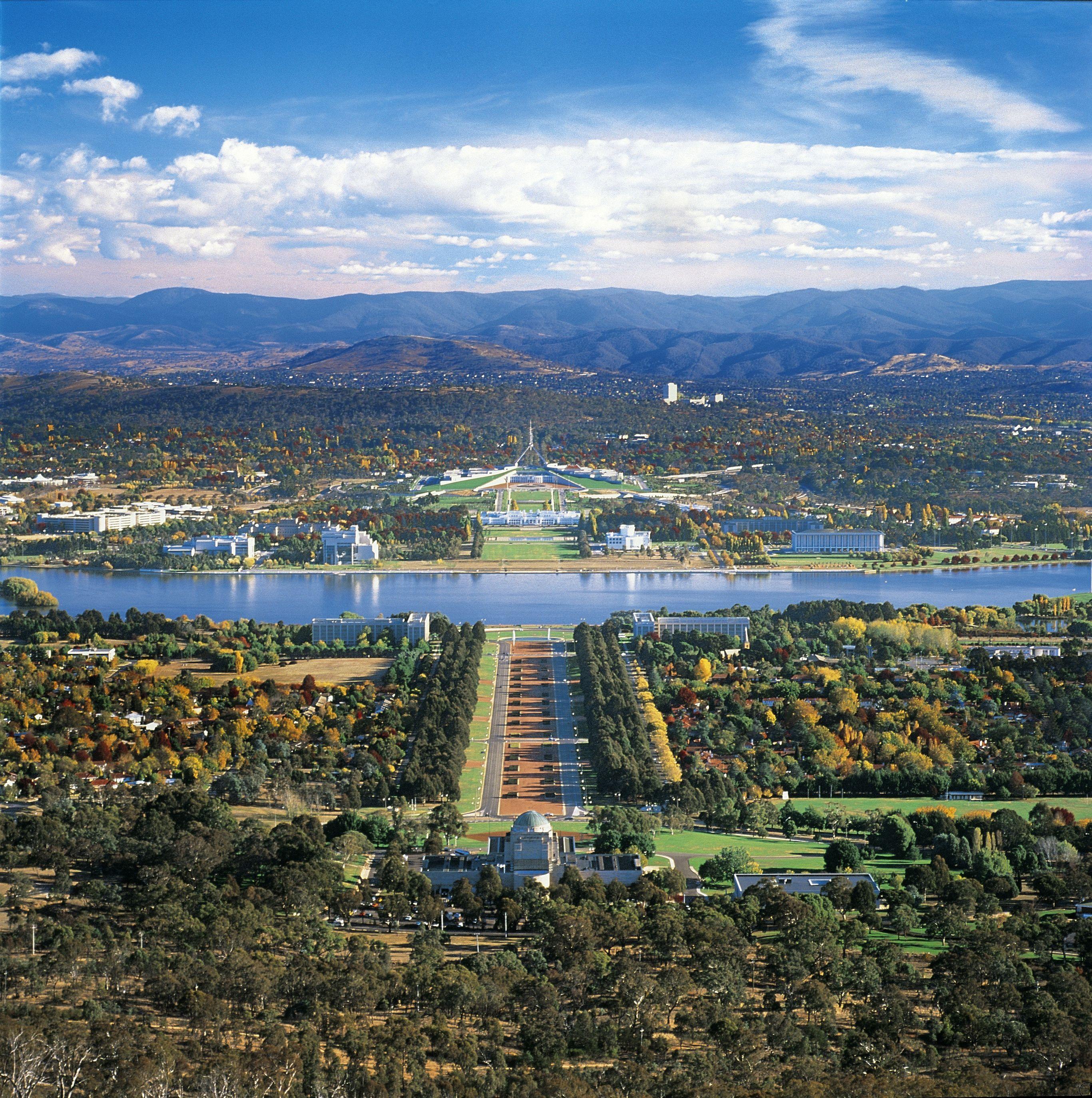 Australie-Canberra-hoofdstad Australië